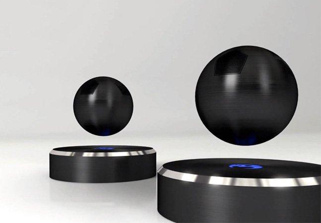 Startup cria caixa de som que levita enquanto reproduz sua música