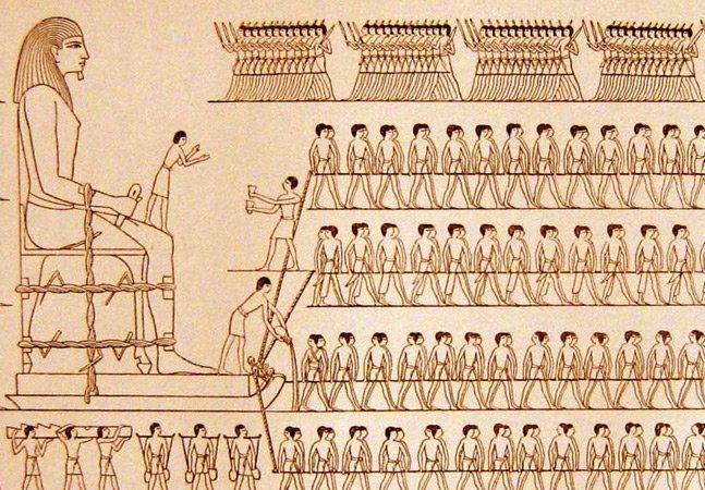 Cientistas holandeses descobrem como os egípcios moveram as pedras das pirâmides