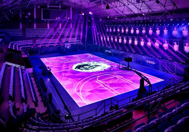 Quadra interativa de LED promete revolucionar treinos esportivos