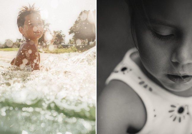 Fotógrafa cria série de belas fotos para captar a alegria de sua família em 365 dias