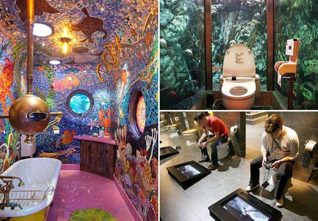 22 banheiros irresistíveis pra descobrir ao redor do mundo