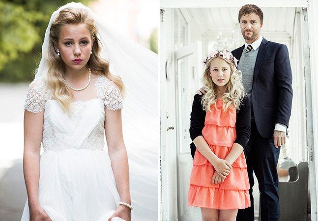 O primeiro casamento de uma menina de 12 anos na Noruega é um alerta para o mundo inteiro