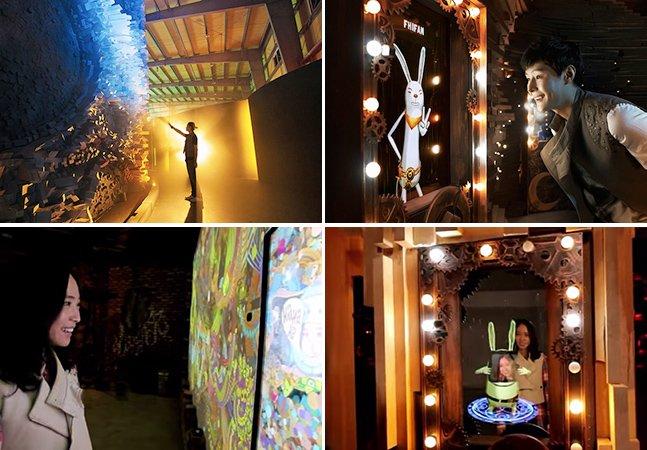 Coreia do Sul ganha primeiro parque temático 4D do mundo totalmente controlado por Kinect