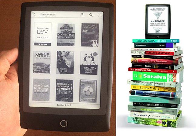 Hypeness Review: novo e-reader brasileiro vai te convencer a trocar os livros de papel pelos digitais