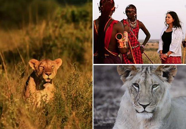 Mulher transforma tribo africana com tradição em matar leões nos maiores guardiões da espécie