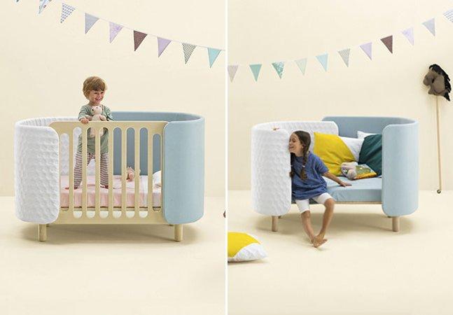 """Designers criam móveis inteligentes que """"crescem"""" junto com as crianças"""