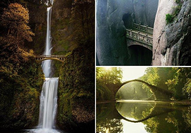 20 pontes mágicas para atravessar pelo mundo