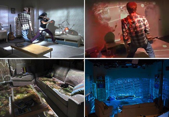 Próxima geração de videogames promete transformar qualquer quarto em cenário de jogo