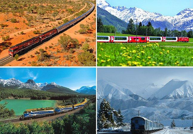 20 viagens de trem para fazer pelo menos uma vez na vida