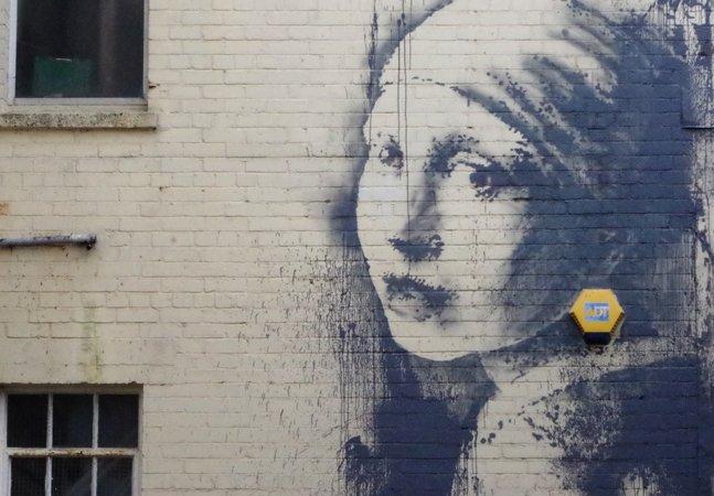Conheça a nova arte de Banksy inspirada em uma pintura barroca