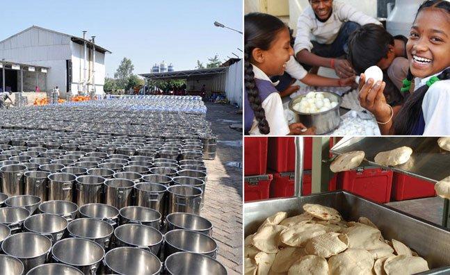 Indiano cria projeto que alimenta mais de 1 milhão de crianças por dia no país