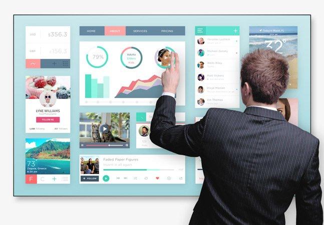 Empresa portuguesa cria tecnologia inovadora que transforma qualquer tela em touchscreen