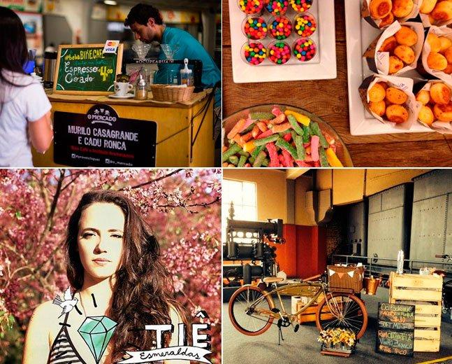 """Evento gratuito ao ar livre em São Paulo reúne cinema, música e """"food bikes"""""""