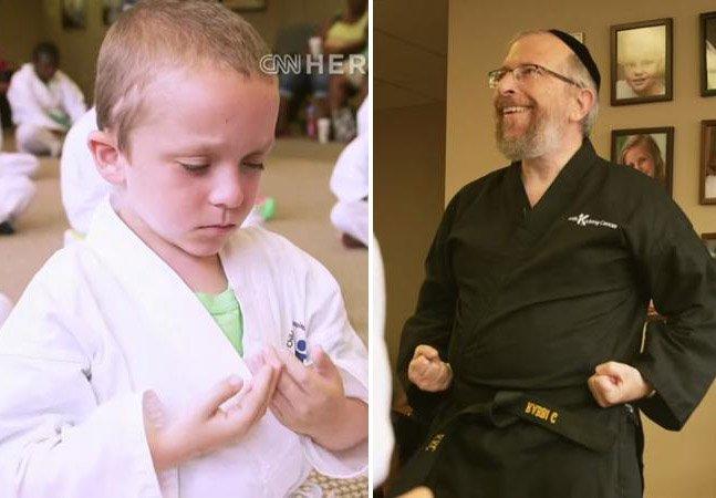 Como esse lutador tem ajudado crianças a enfrentar o câncer através das artes marciais
