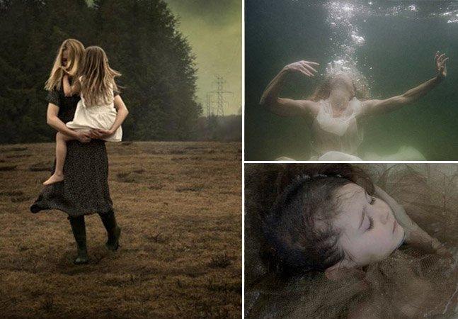 Sobrevivente de câncer se inspira na filha e clica fotos surreais pra encorajar as pessoas a seguirem suas paixões