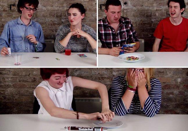 Vídeo mostra como jovens irlandeses reagem ao comer junk food americano pela primeira vez