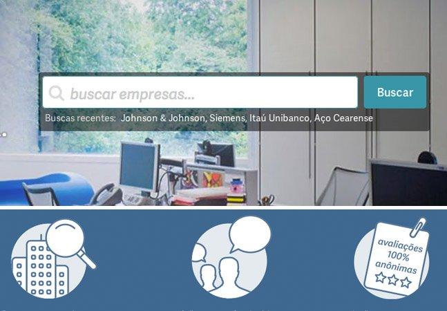 A plataforma que te ajuda a escolher onde quer trabalhar através de depoimentos anônimos dos funcionários