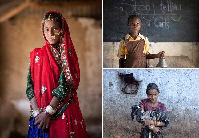 Fotógrafo viaja o mundo retratando a coragem de mulheres que vivem em sociedades machistas