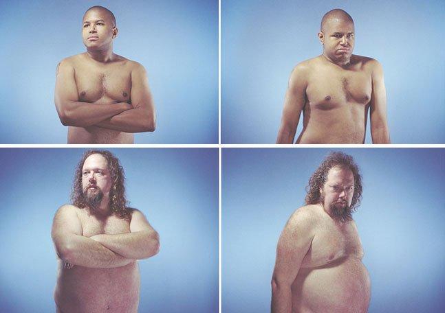 Série fotográfica mostra como a postura influencia a nossa aparência