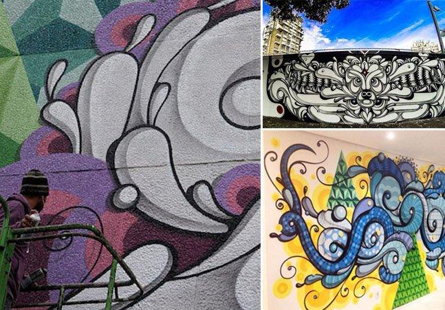 Conheça a arte de rua inconfundível do brasileiro Rafael Highraff