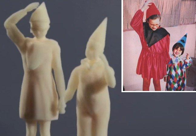 Impressora 3D reproduz fotos antigas para deficientes visuais relembrarem o passado
