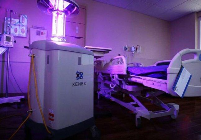 Robô é capaz de matar vírus ebola usando raios ultravioleta