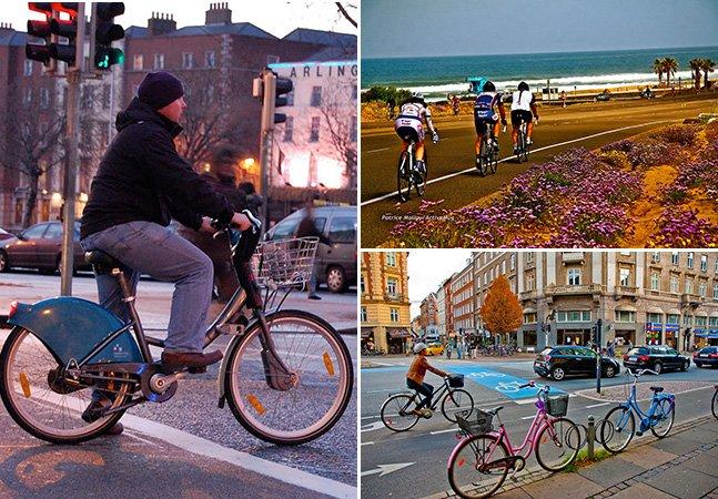 Conheça as 10 melhores cidades do mundo para pedalar