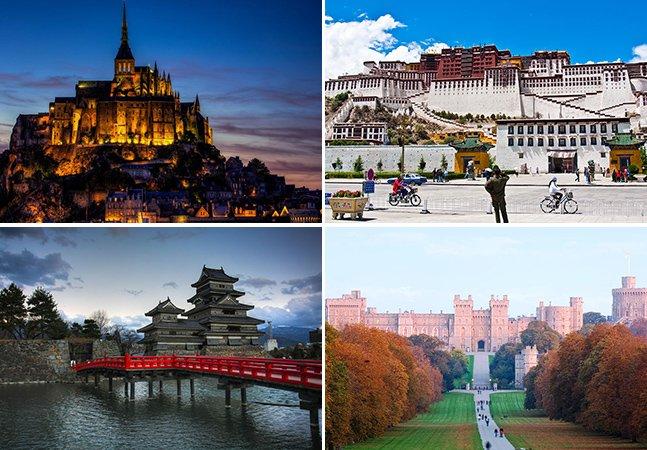 10 castelos fantásticos pelo mundo para visitar antes de morrer