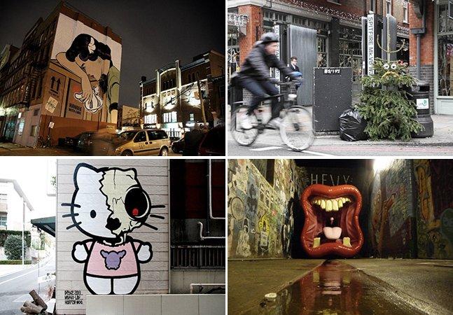 Conheça as várias faces da arte de rua de D*Face