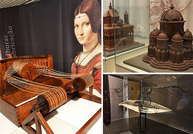 Fomos conferir a exposição de Leonardo Da Vinci em SP