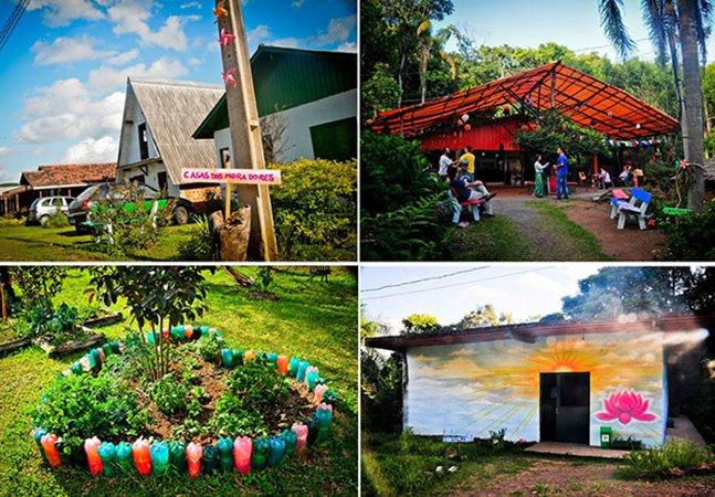 Casal sai pela América do Sul pra mapear ecovilas e comunidades sustentáveis