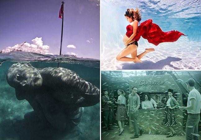 6 intervenções incríveis feitas debaixo do mar