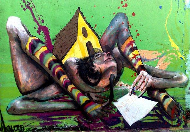 São Paulo ganha um dos maiores corredores de graffiti da América Latina