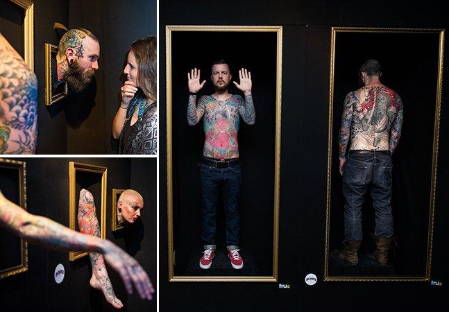 Galeria com humanos (de verdade!) tatuados mostra que o corpo pode ser uma obra de arte