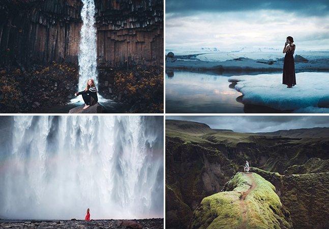 A aventura de três amigos fotógrafos pelas paisagens deslumbrantes da Islândia