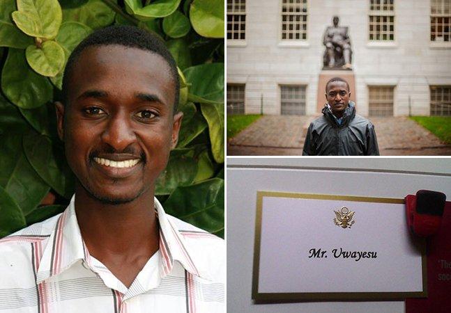 A história inspiradora do jovem que saiu das ruas de Ruanda para estudar em Harvard