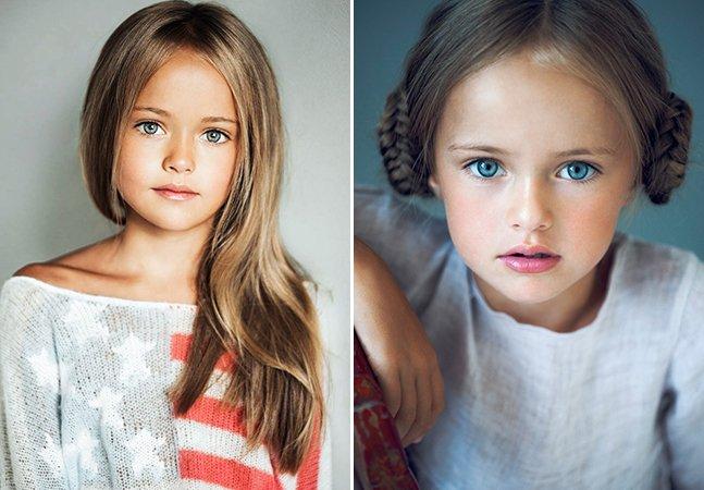"""Considerada """"a mais bonita do mundo"""", menina de 8 anos levanta debate sobre exploração da beleza infantil"""