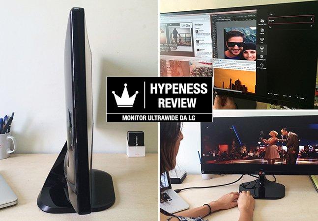 Hypeness Review: Testamos o novo monitor da LG que vai aumentar a sua produtividade
