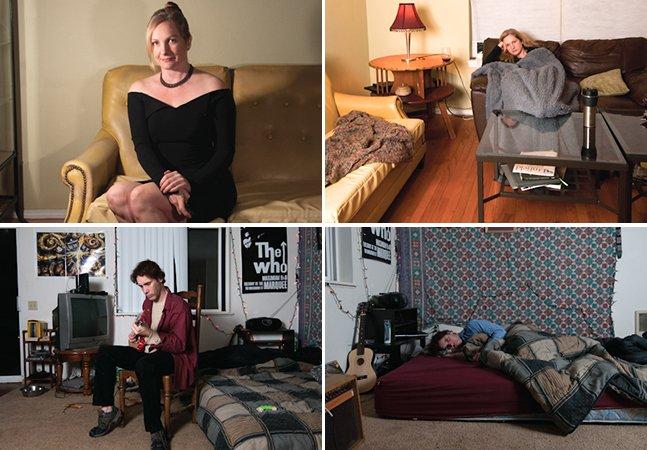 Série fotográfica retrata os altos e baixos de quem sofre de depressão e outros problemas psicológicos