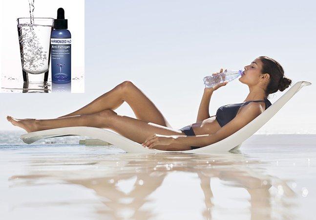 Protetor solar feito para beber é uma forma inovadora de proteger a pele
