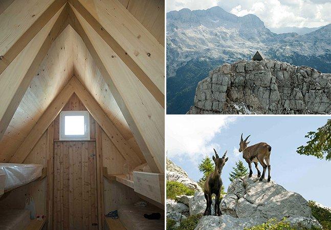 Hotel no topo de montanha oferece estadia para visitantes que consigam chegar lá