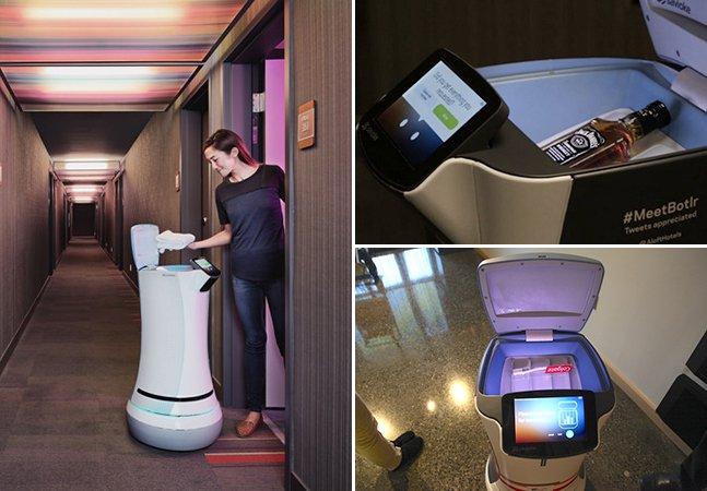 Rede de hotéis adota robô-mordomo para melhorar atendimentoaos hóspedes