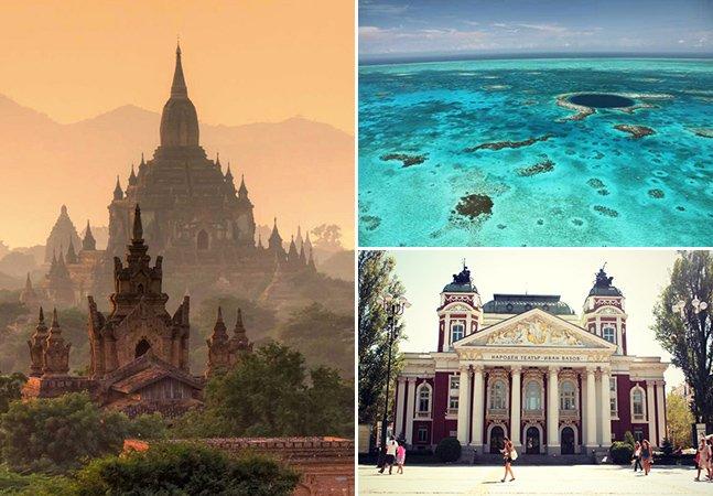 10 lugares para você conhecer antes que se tornem populares entre turistas