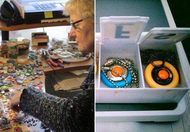 Sobrevivente do câncer usa remédios antigos para criar joias incríveis e pagar dívidas médicas