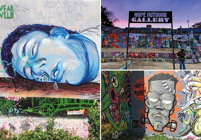 Texas ganha galeria comunitária de arte a céu aberto