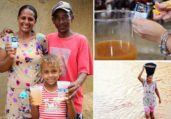 Como um pó capaz de purificar água barrenta vem mudando a qualidade de vida de milhares de pessoas