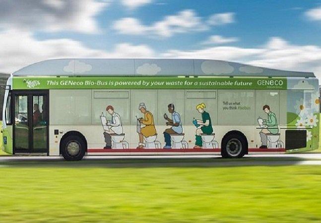 Cientistas criam primeiro ônibus do mundo movido a dejetos humanos