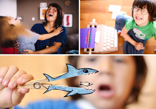 Mãe transforma o ato de brincar com o filho em profissão e registra tudo em um blog de histórias encantador