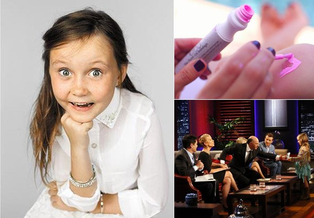 Com apenas 6 anos, menina cria marca de curativos inovadora que já rendeu seu primeiro milhão