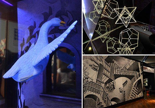 Conferimos de perto o ilusionismo fantástico de M.C. Escher em SP